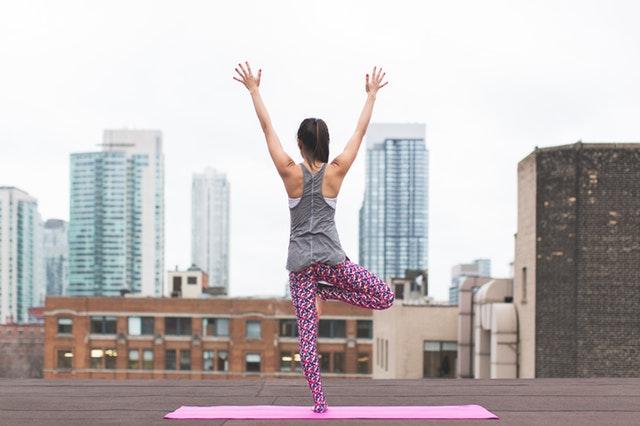 gezond leven yoga