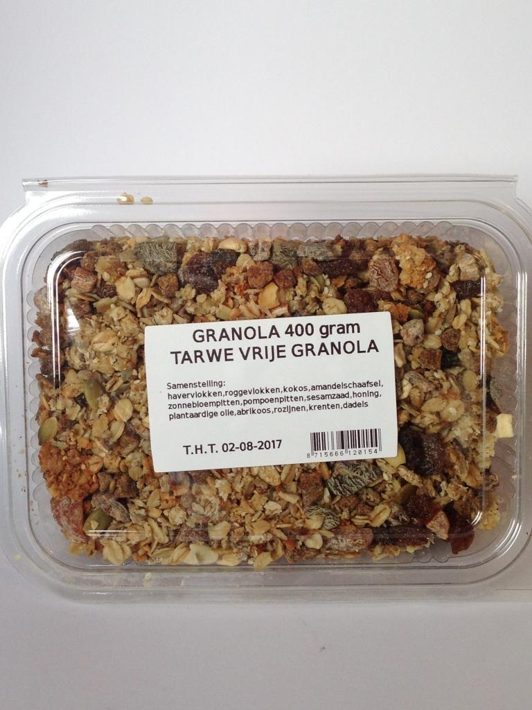 granola tarwe vrij