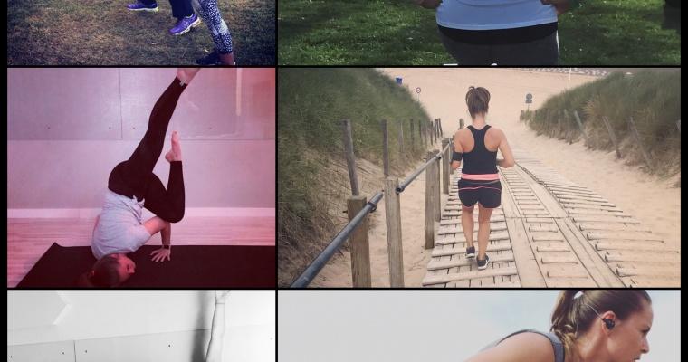 Sporten, sporten en nog eens sporten…