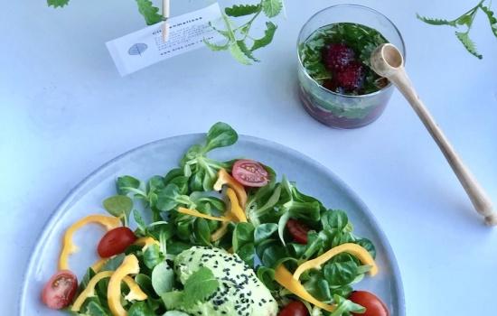 Recept Salade met Citroenmelisse Dressing