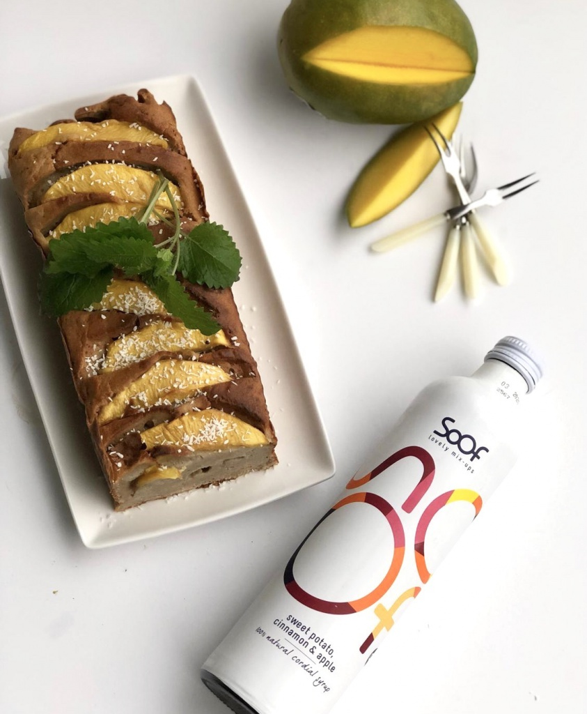 banaanbrood soos