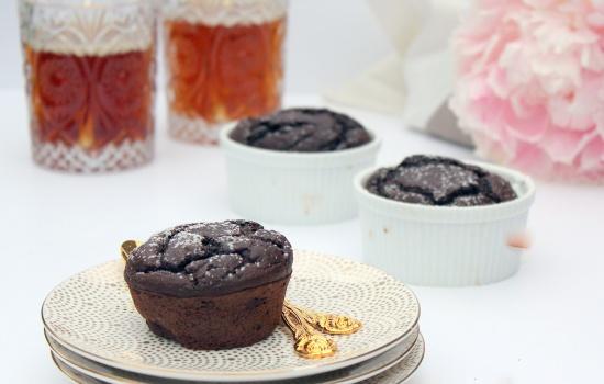 Recept Chococupcakes Aubergine