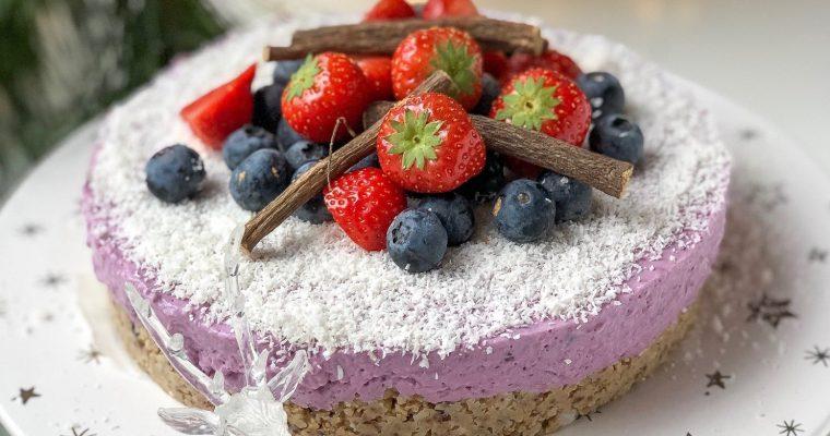 Bosvruchten taart