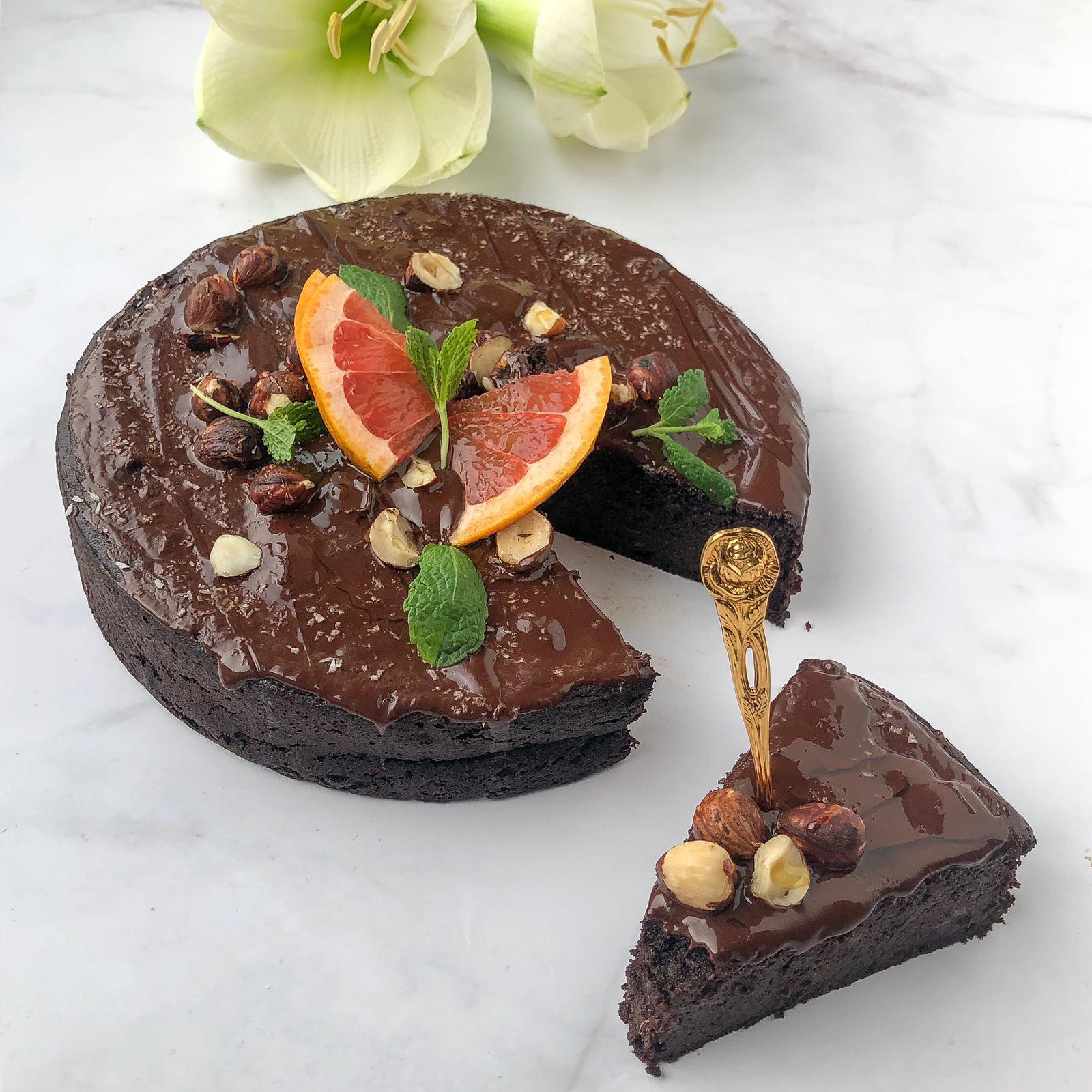 chocoladetaart valentijn