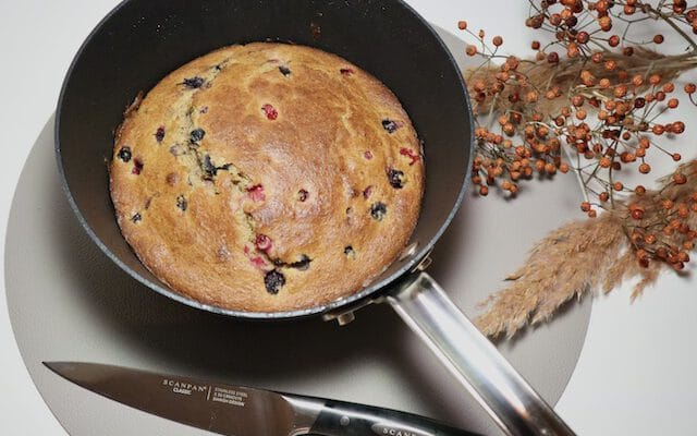 Bosvruchten Kwark Cake