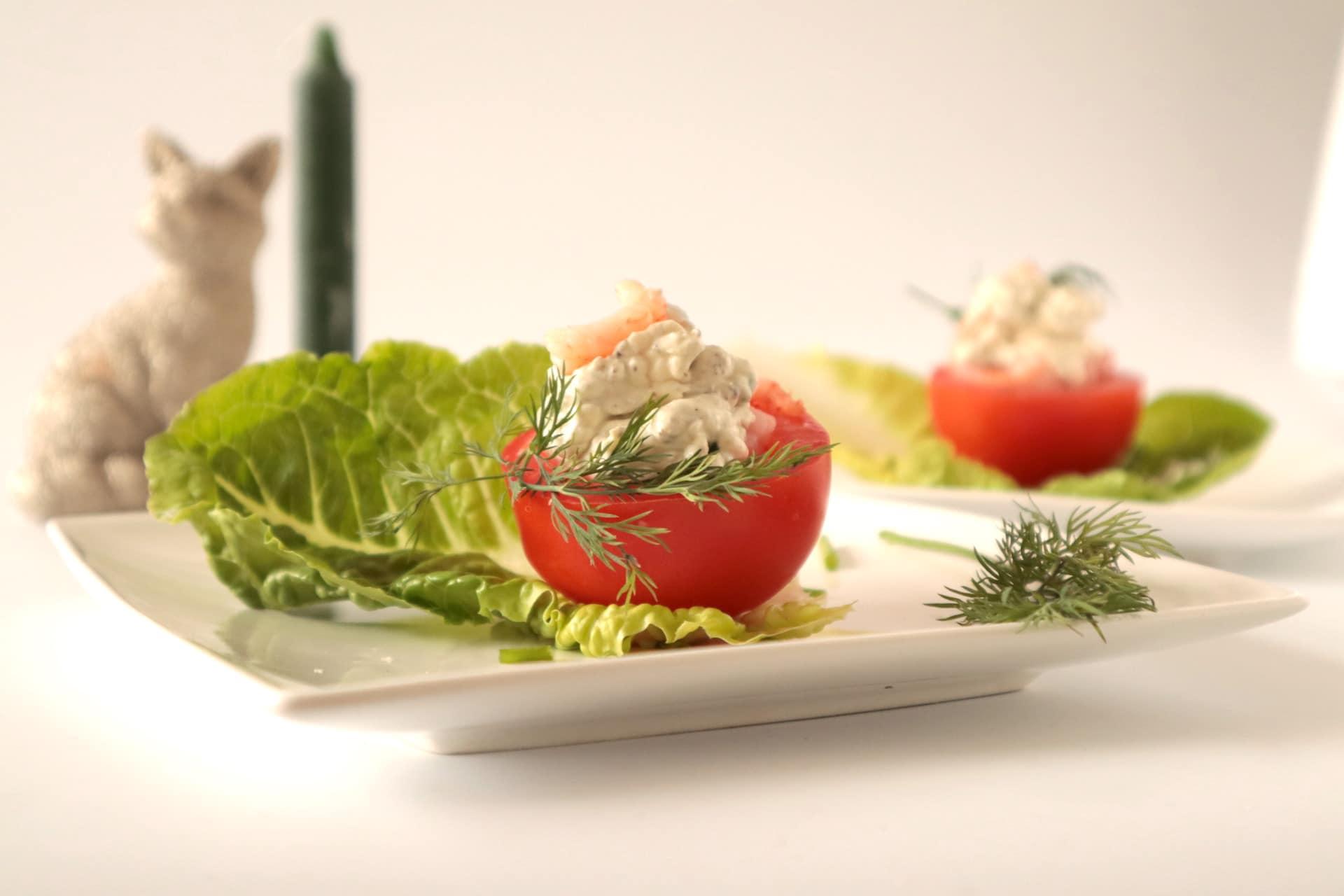 gevulde tomaat