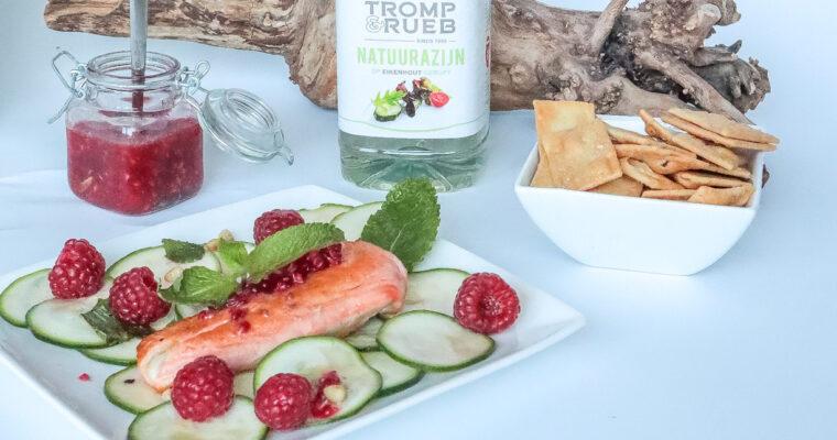 Courgette Zalm Salade