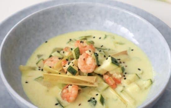 Curry Garnalen Soep